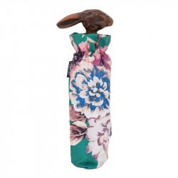 Pasotti, 257 9A436-5 113 - składany parasol z uchwytem w kształcie królika, kwiatowy wzór