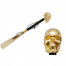 Pasotti Łyżka do butów cs W33or - Gold Skull Shoehorn