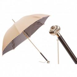Pasotti Parasol damski Classic 189 55874-164 U14 - Classic Colors Polka Dots Umbrella, Podwójny materiał