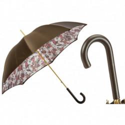 Pasotti Parasol damski Classic 189 5F805-6 P - Paisley Umbrella with Leather Handle