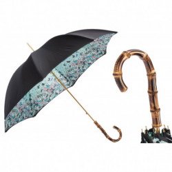 Pasotti Parasol damski Classic 189 5X790-12 Z20 - Umbrella with Butterflies and Bamboo