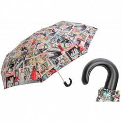 Pasotti Parasol damski składany 257 5K890-1 P - Folding Umbrella Comics