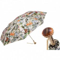 Pasotti Parasol damski składany 257 5D557-1 A29 - Folding Umbrella Butterflies