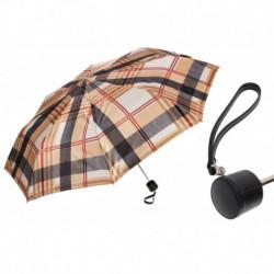 Pasotti Parasol damski składany 257 52864-111 P - Classic Womens Umbrella with Stripes