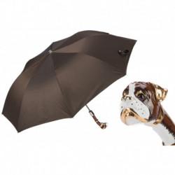 Pasotti Parasol męski składany 64 Oxf-17 K22 - Boxer Folding Umbrella