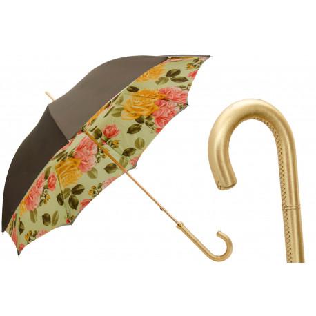 PASOTTI Parasol Damski 189 54740-88 I35 - Yellow Roses Umbrella