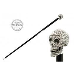 Laska Pasotti Clear Swarovski Skull, ba W333tr