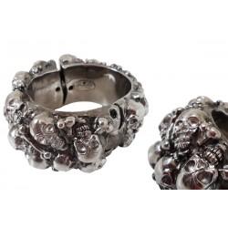 Mosiężna bransoletka Pasotti Br K20 - Gothic Skull Bracelet