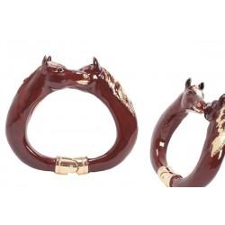 Mosiężna bransoletka Pasotti Br K45mo - Luksusowa bransoletka, Horses