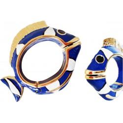 Mosiężna bransoletka Pasotti Br K13bl - Blue Nemo Bracelet