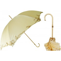 PASOTTI Parasol Damski IVORY WOMAN'S DECORATED