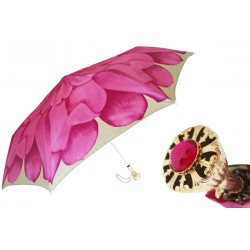 Parasol Pasotti Pink Dahlia Folding, 257 21065-30 P11