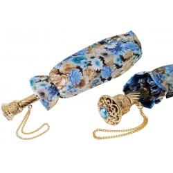 Parasol Pasotti Blue Flowers Folding, 257 5A699-3 P14