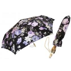 Parasol Pasotti Dark Flowered Folding, 257 52693-70 P13