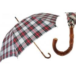 Parasol Pasotti Tartan, Congo Crook Handle, 476 PTB131-3 K