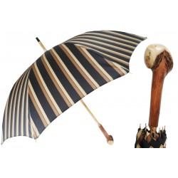 Parasol Pasotti Solid Chestnut Handmade, 142 Alfred-8 CD