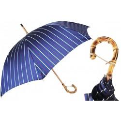Parasol Pasotti Classic Striped, Bamboo Handle, 142 Bruce-1 B