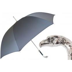 Parasol Pasotti Grey, Silver Eagle Handle, 478 6768-7 W18