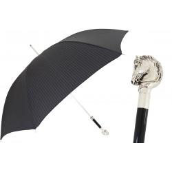 Parasol Pasotti Elegant, Silver Horse Handle, 478 5973-2 W41