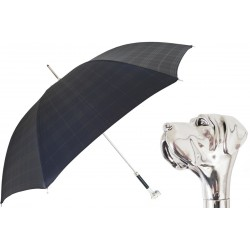 Parasol Pasotti Black Check Labrador , 478 6434-19 W27
