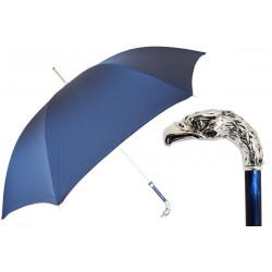 Parasol Pasotti Blue, Silver Eagle Handle, 478 6768-2 W18PB