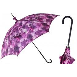 Parasol Pasotti Manual Opening Purple Flowers, Rainproof, 354ne 55275-901 D1