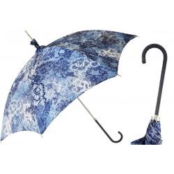 Parasol Pasotti Manual Opening Blue Print, Rainproof, 354ni 5E210-4 D1