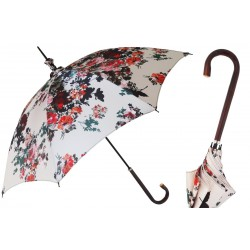 Parasol Pasotti Manual Opening Flowers, Rainproof, 354ne 5E128-2 D26