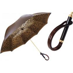 Parasol Pasotti Brown Speckled, podwójny materiał, 189 1411-61 A
