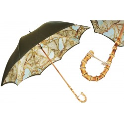 Parasol Pasotti Bamboo Handle with Bridles, podwójny materiał, 397 58152-3 B