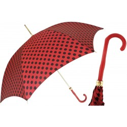 Parasol Pasotti Nice with Red and Black Polka Dots, 20 55874-163 Z16