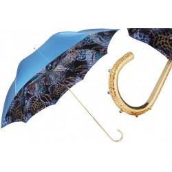 Parasol Pasotti Fantasy Blue, podwójny materiał, 189 58044-1 U2