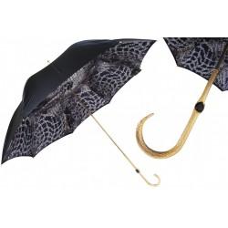 Parasol Pasotti Black with Precious Interior, podwójny materiał, 189 58044-3 B10