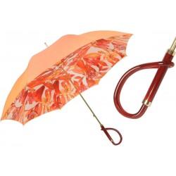 Parasol Pasotti Orange Flowers, podwójny materiał, 189 55775-4 A