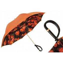 Parasol Pasotti Orange Flowers, podwójny materiał, 189 56896-9 A