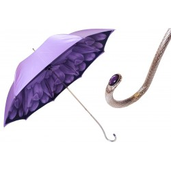 Parasol Pasotti Purple Dahlia, podwójny materiał, 189N 21065-71 S13