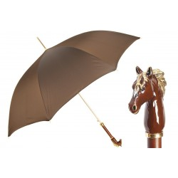 Parasol Pasotti Brown Horse Luxurious, 460 Oxf-17 K45mo