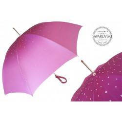 Parasol Pasotti Pink Swarovski, podwójny materiał, 185N 21284-18 A