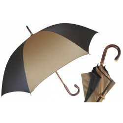 Parasol Pasotti Beige and Brown Bespoke Solid Chestnut, 477 Oxf-2 Oxf-17 C